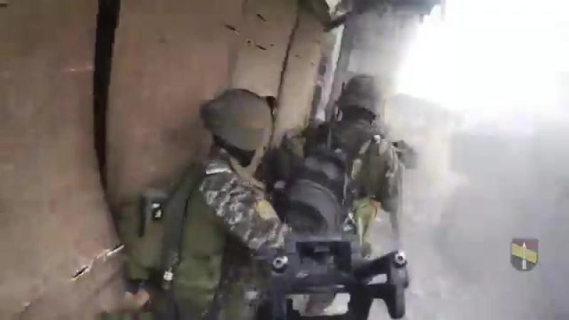Филлипины Спецназ в уличных боях в Морави