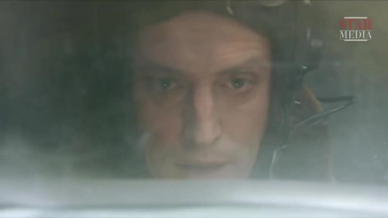 Небо в огне (2010), 12 серия, сцена последнего боя Отто Юргенса (Дмитрий Фрид)