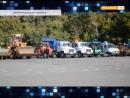 Парад коммунальной техники в День открытых дверей ЖКХ