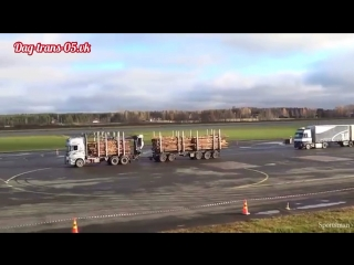 Scania r500 vs volvofh16 60t
