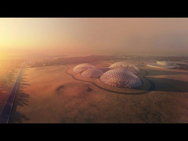 Bjarke Ingels proposes Mars simulation city for Dubai in race for space colonisation