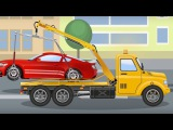 Real Hero - Tow Truck All Episodes for Kids with Video For Children Bip Bip Cars Cartoon