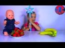 Baby Born Doll Кукла Беби Борн и Маленький Повар Ярослава готовят волшебный Смузи Видео Для Детей