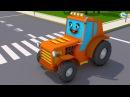 Traktory Prace Przygody Traktor Nowy Bajki Animacje Traktory Fairy Tractors for Kids
