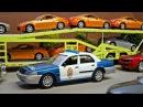 Мультики про машинки все серии подряд - Полицейская машина и Эвакуатор в Городе ...