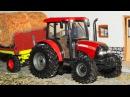 Красный Трактор с прицепом в ГОРОДКЕ МАШИНОК! Мультики для детей все серии подряд