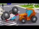 Оранжевый Трактор в БЕДЕ! Мультфильмы про Трактор Все серии подряд Новые Мульти ...
