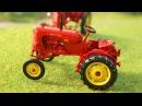 Видео для детей Красный Трактор Взлетел в НЕБО Мультфильм про машинки Мультики ...