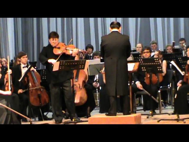 A. Nimensky Concert-Requiem for viola and orchestra. Valery Averin - viola. Cond. - Enhe