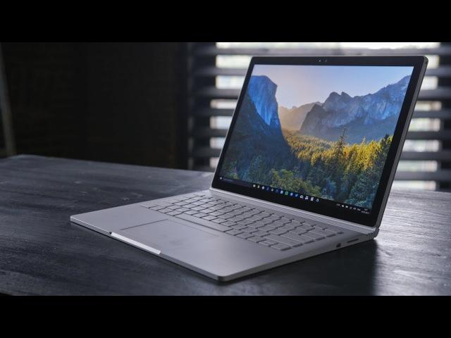 Обзор Surface Book i7