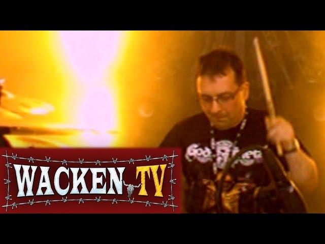 Carcass - Ken Owen Drum Solo - Wacken Open Air 2008