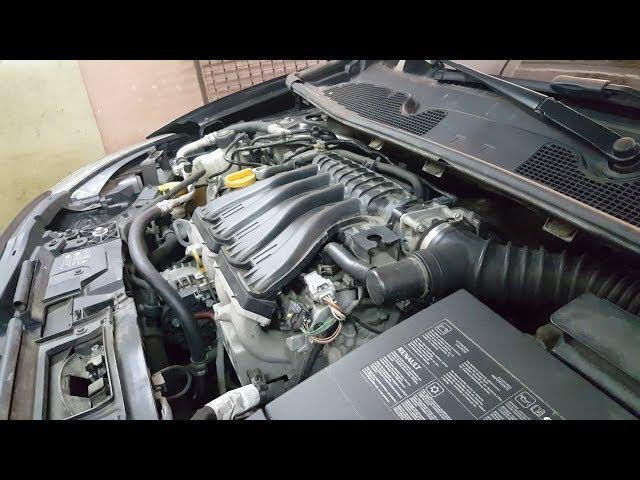 Renault M4R 2.0 16V - Diagnostyka wypadania zapłonu, wymiana świec, demontaż kolektora