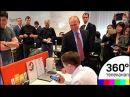Владимир Путин впервые приехал в московский офис Яндекса