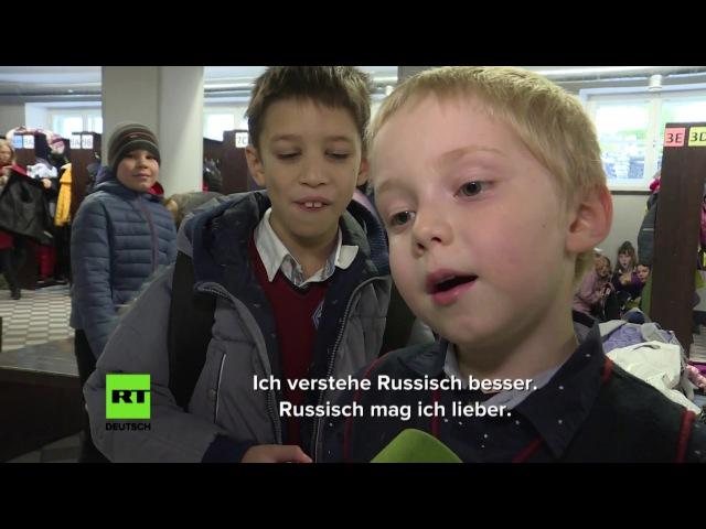 Parallelwelten in Estland: Russen füllen sich diskriminiert - Esten wittern russische Aggression
