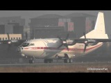 Meridian Aviation Antonov AN-12 Take Off at Maastricht Aachen (HD)