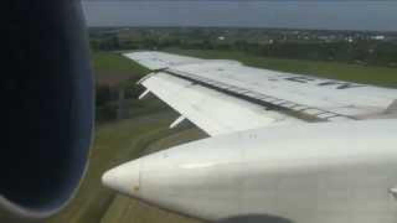 THE SIGHT THE SOUND 1/6 : Belavia TU-154M EW-85741 inflight documentary from Minsk to Warsaw
