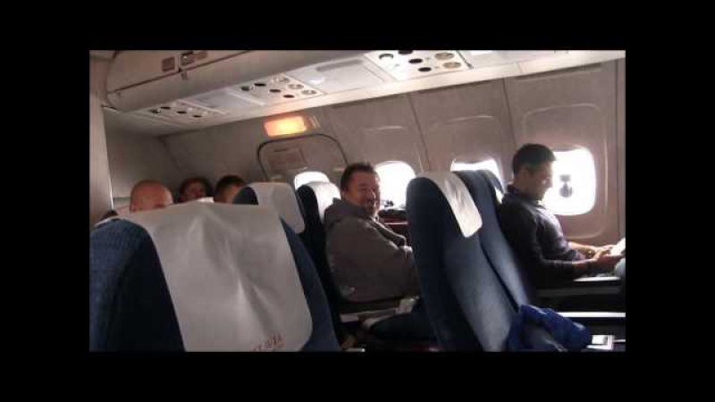 THE SIGHT THE SOUND 4/11 : Belavia TU-154M EW-85741 final flight from Minsk to St. Petersburg