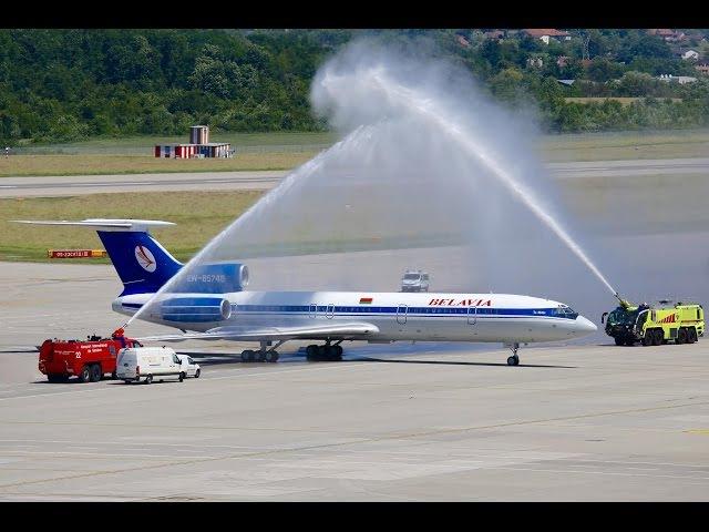THE SIGHT THE SOUND 2-2/9 : Belavia TU-154M EW-85748 Farewell Flight Geneva - Minsk