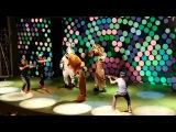 Madagascar show (police part) Sentido hotel Alanya Turkey 2017