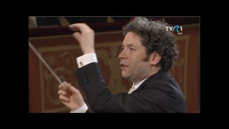 Orchestra Filarmonică din Viena condusă de Gustavo Dudamel - Dunărea albastră (2017)
