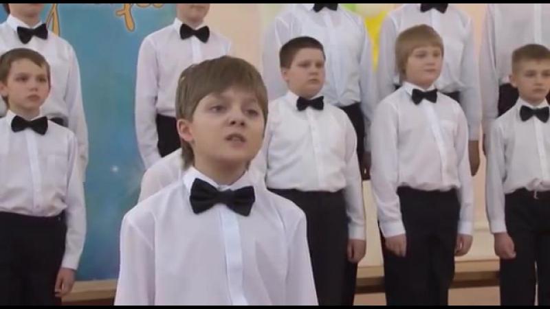 Хор мальчиков Детской хоровой школы «Алые паруса» - «Вечер на рейде»