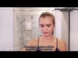 Секрет пухлых губ ангела «Victoria's Secret» Жозефин Скривер / Бьюти-секреты от Vogue