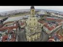 "Dresdner Frauenkirche mit riesigem ""Bomber Harris""-Schriftzug besprüht"