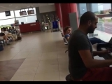 Guy Walks Over To A Piano At  Airport And Stuns Everyone. ( Old but Gold )