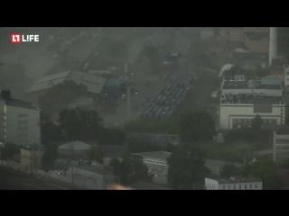 Ураган в центре Москвы