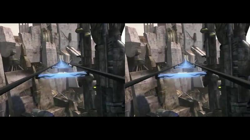 5D Аттракцион. Земля будущего 3D VR SBS