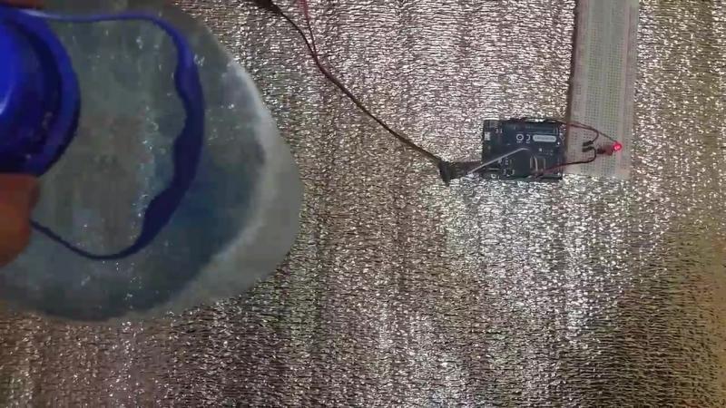 лазерный дальномер с Ардуино