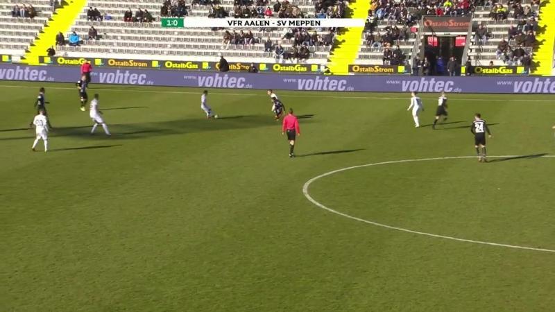 Highlights VfR Aalen - SV Meppen