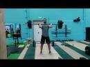 Илья Тарасов. Взятие на грудь с виса в стойку - 85 кг, 4*10