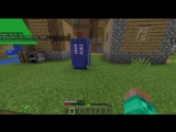 ТАРДИС в Minecraft Bedrock без модов