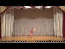 ДЕНИСОВА ВАРВАРА IV Городской конкурс детских и юношеских балетмейстерских работ «Начало»