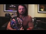Fighting Online: AJ Styles new US champion!