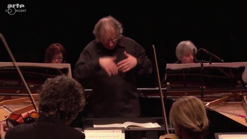 1060 J. S. Bach - Concerto for 2 Pianos in C minor, BWV 1060 - Edit Klukon, Dezso Ránki - Concerto Budapest - András Keller