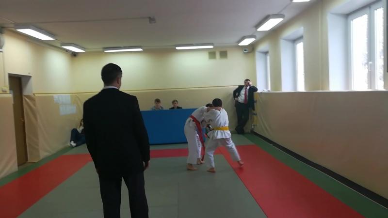 11.02.2018 Первенство ЮАО по дзюдо, 3 схватка.