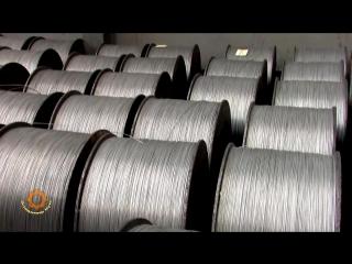 Как делают стальной трос