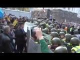 Беспорядки в Киеве.  Начался прорыв к Верховной Раде (17.10.17)