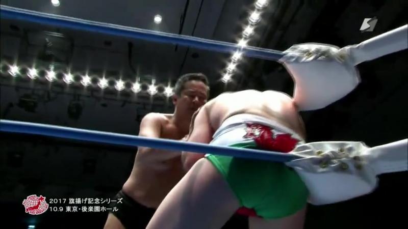 Osamu Nishimura (c) vs. Danny Jones (AJPW - Raising An Army Memorial Series 2017)