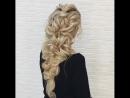 Очень быстрая объёмная коса для длинных волос