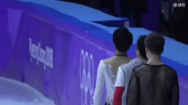 Yuzu and javi during the gala