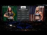 UFC 222 Free Fight  Cris Cyborg vs Holly Holm