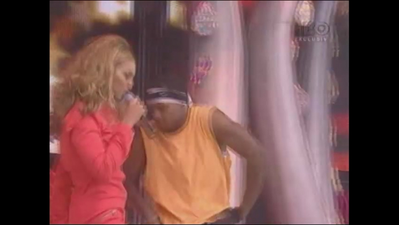 Beyonce - Baby Boy Work It Out Crazy In Love (Live @ Party In The Park 06.07.2003)