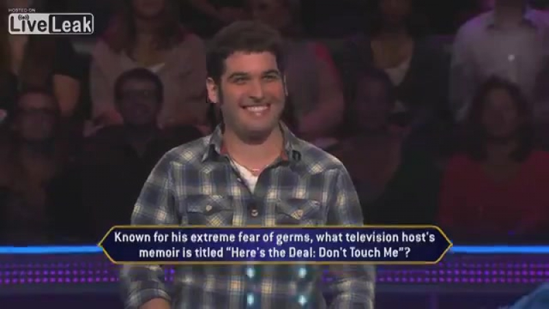 Contestant Injures Meredith Vieira's Hand on Who Wants To Be A Millionaire