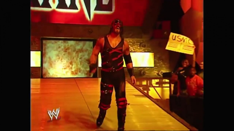 Triple H, The Hurricane, Kane Segment Raw 10.28.2002