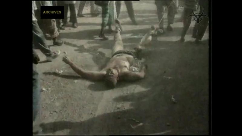 Падение черного ястреба - реальные кадры (Сомали 1993, гуманитарная миисия)