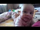 Смешно до слез!)Как Малыш разговаривает в 4 месяца