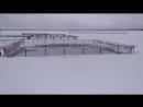 Аквакультура: Зимнее кормление форели в садках. Аэраторы www.salmo.ru